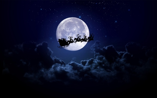 santa-sledge-hd-picture
